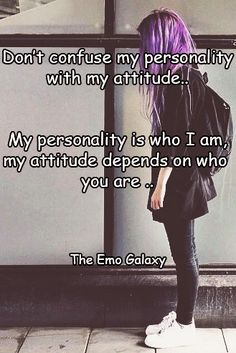 True im usually cool calm and rasy to get along with so ues it depends on the attidude i get in return and if it matters to me for me to speak back lol
