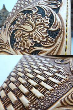 Rakuten: Choose from Samurai craft leather シェリダンスタイルロングウォレット carving ★ Concho ★…