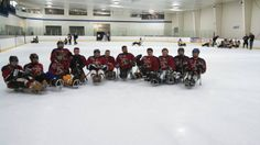 Strides/LA Kings at the Disabled Hockey Festival.