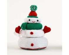 Holiday Stacking Toy (Crochet)