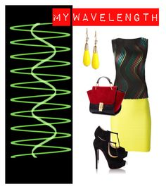 """""""On my Wave"""" by stephanie-mcclaran ❤ liked on Polyvore featuring Alexander Wang, Issey Miyake, Christian Louboutin and INC International Concepts"""