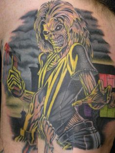 Ryan Slegel, Silk City Tattoo, Hawthorne, NJ