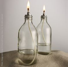 It is hard to resist this little lantern that developed from a family recycling project in Thailand. Each beautifully shaped container began life as a soda bottle and was reclaimed to create a charming evening light. We recommend use with lamp oil (not included).