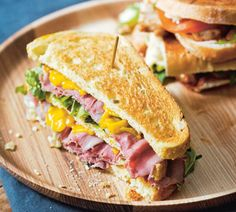 Ierse sandwich met rosbief en kruidenkaas - Recept - Jumbo Supermarkten