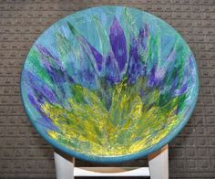 UNICORN SPIT Color Blending, Color Pop, Painted Furniture, Furniture Ideas, Unicorn Spit Stain, Diy Stuff, Dyes, Painting Techniques, Chalk Paint