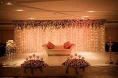 37 popular ideas for wedding reception stage decorations backdrops Reception Stage Decor, Wedding Backdrop Design, Desi Wedding Decor, Wedding Stage Design, Wedding Balloon Decorations, Wedding Reception Backdrop, Indian Wedding Decorations, Wedding Mandap, Wedding Receptions