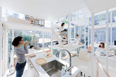 Huse NA | Tokyo's Modern Transparent House - My Modern Metropolis