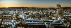 Sunset in Stuttgart City by Wolfgang Simm on 500px
