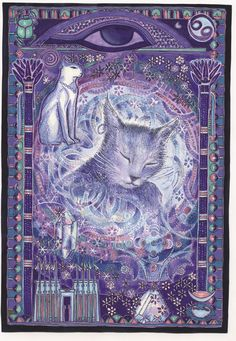 Cancer - Zodiaque des Chats by MYRRHA: artist of the soul & of the light