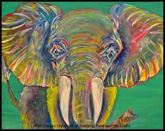 ELOISE THE ELEPHANT at Saratoga Paint and Sip Studio
