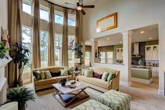 The Westin Homes Model In Eagle Springs