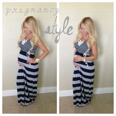 Pregnancy style fashion pregnant maxi dress 28 weeks 7 months pregnant