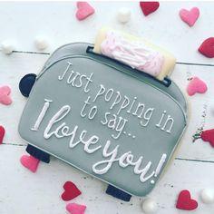 Instagram Macaroon Cookies, Meringue Cookies, Iced Cookies, Cake Cookies, Sugar Cookies, Cupcakes, Valentines Day Cookies, Valentine Cookies, Valentine Day Love