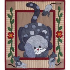 "Owl Family Wall Hanging Quilt Kit-13""X15"" 