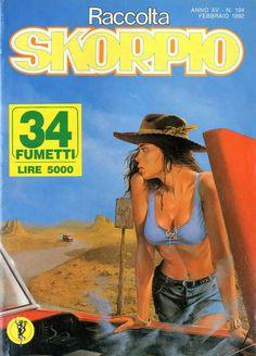 Fumetti EDITORIALE AUREA, Collana SKORPIO RACCOLTA n°194