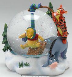 Przewodnik dla kolekcjonerów Disney Snowglobes: Kubuś Puchatek