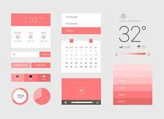 Flat Design exemples / Flat layout / Flat app / Flat ui / Flat colors
