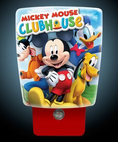 Vintage red mickey mouse ceiling fan very nice condition pick up mickey mouse wraparound led night light aloadofball Images