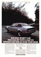 American Motors Hornet X 1972 Ad Picture