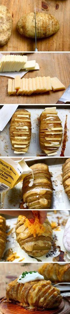 Scalloped Hasselback Potatoes | Recipes I Need