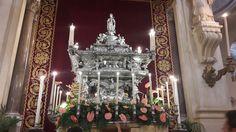 Cattedrale di Palermo, Santa Rosalia.