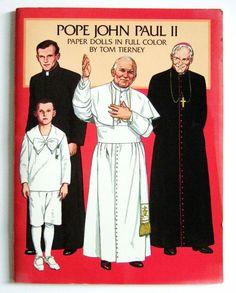 pope john paul ii paper dolls