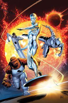 Fantastic Four by Lee Weeks
