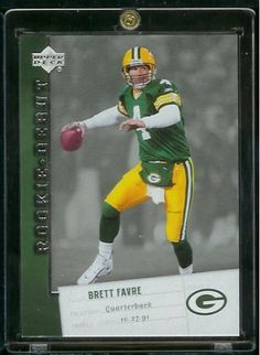 2006 Upper Deck Rookie Debut Brett Favre Green Bay Packers Football Card #36 - Mint Condition-Shipped In Protective ScrewDown Display Case!! by Upper Deck. $5.95