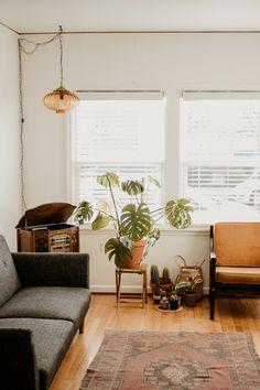 How I Decorated My Living Room on a Budget! #interiordesign #decor #boho #modern