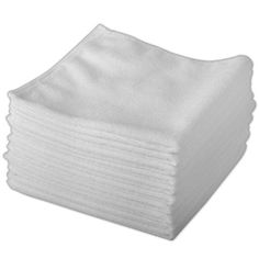 From 7.46:20 Pack Of Genuine Exel White Microfibre Magic Cleaning Cloths. Chemical Free Cleaning. Anti Bacterial Microfiber Cloths For Amazing Smear Free Wiping. | Shopods.com