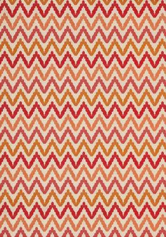 SAUSALITO, Orange and Pink, W75724, Collection Biscayne from Thibaut