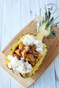 Pineapple Chicken is bursting with flavor, this pineapple chicken recipe can also be easily altered into pineapple teriyaki chicken skewers