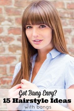 Are you looking for some hairstyle ideas with bangs? Here are 15 ladies that wear them well.