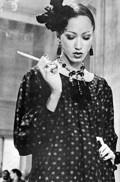 Seventies supermodel Pat Cleveland.