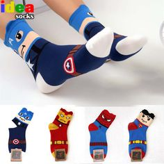 korean harajuku super fashion 3d cartoon batman captain america women cotton funny socks cute superhero female lovely socks♦️ B E S T Online Marketplace - SaleVenue ♦️👉🏿 http://www.salevenue.co.uk/products/korean-harajuku-super-fashion-3d-cartoon-batman-captain-america-women-cotton-funny-socks-cute-superhero-female-lovely-socks/ US $2.21