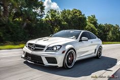 Stunning Mercedes-Benz AMG Black Series Trio by Mode Carbon - GTspirit C Class Mercedes, Black Mercedes Benz, Mercedes Benz C63 Amg, Mercedes Benz Cars, Amg C63, C63 Amg Black Series, Dream Cars, C 63 Amg, Cool Sports Cars
