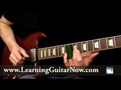 ▶ Open E Tuning Slide Guitar Lesson: Duane Allman Style Lick - YouTube