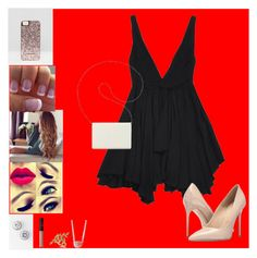 """""""Date night ❤️❤️"""" by bgd0502 ❤ liked on Polyvore featuring Yves Saint Laurent, Allurez, Nine West, Massimo Matteo, NARS Cosmetics, Skinnydip and Lafonn"""