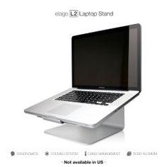 elago L2 STAND (Silver) for Laptop Computer | elago