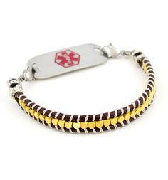 Gold Mine Medical ID Bracelet #laurenshope