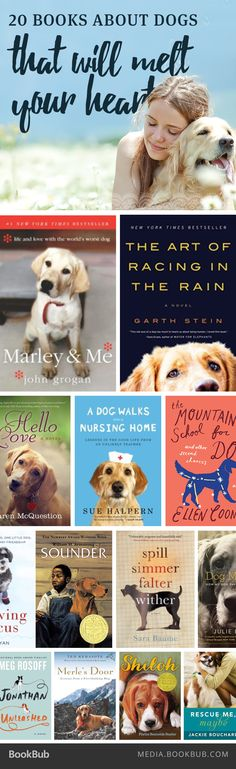 20 must-read books about dogs.