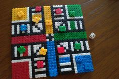 Parchis hama beads by Adaeze