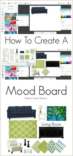 Learn how to create a mood board for your space to avoid costly mistakes when you are designing a new look for your room.