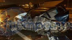 El hecho se registró la madrugada de este domingo en la carretera Lázaro Cárdenas-Feliciano, antes de llegar a los Puentes Cuates, donde se accidentaron los tres ocupantes de un auto ...