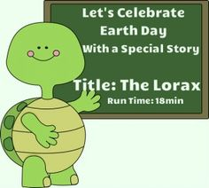 This is an online read aloud of The Lorax by Dr. Seuss. Great title for an April read, as the book conveys a powerful message about the importance of trees, and lends itself to various Earth Day activities. Run time is about 18 minutes.  Graphics from www.mycutegraphics.com
