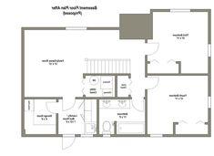 best 25 basement floor plans ideas on pinterest basement plans from Basement Floor Plans For Ranch