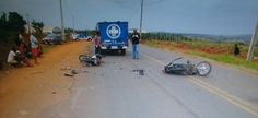 Um morto e outro ferido em acidente de moto
