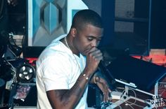 #Pinterest #Photo Nas performing at Cameo Saturdays on South Beach with The 400 Life