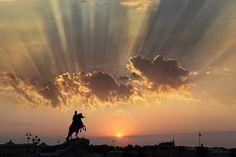Памятник императору Петру I Медный всадник