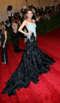 Blake Lively in Gucci, Met Gala 2013